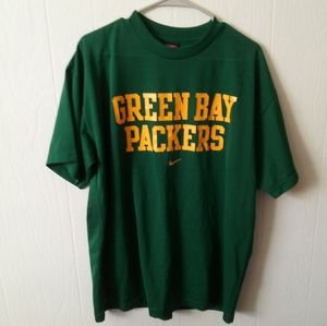 Nike Old School Green Bay Packers Jersey Shirt